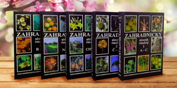 Zahradnický slovník naučný 5.dílů - nyní pro všechny