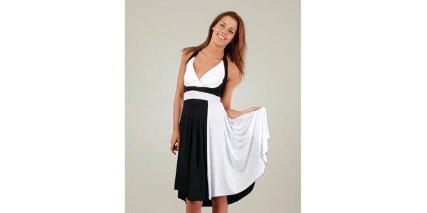 Dámské černo-bílé šaty a la Marylin Monroe Ginger Ale