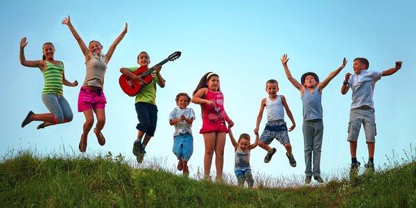Zábavný letní dětský tábor Radost