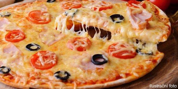 Maxi pizza velká 45 cm dle vašeho gusta