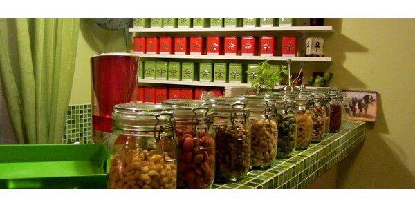 Posezení v Čajovně U Žabky u vodní dýmky a čaje dle výběru