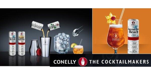 Praktický 6 pack lahodných koktejlů