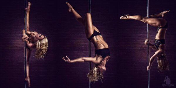 60minutová lekce Pole dance ve studiu ONE2ONE