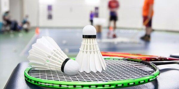 Hodina badmintonu v centru Třešňovka