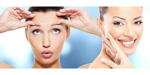 Omlazující ošetření pleti galvanickou žehličkou a masáž obličeje