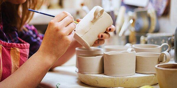Kurzy tvoření a keramiky pro děti i dospělé