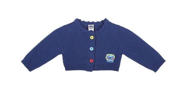 Modrý kojenecký svetřík Tuc Tuc s lvíčkem
