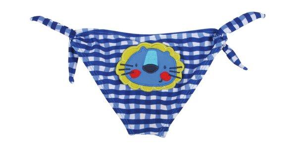 Modré kojenecké plavky Tuc Tuc s lvíčkem