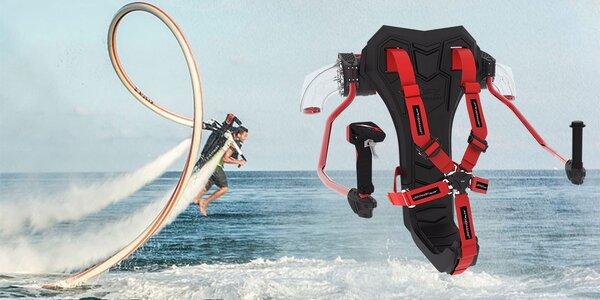 Jetpack: Zalétejte si nad vodní hladinou
