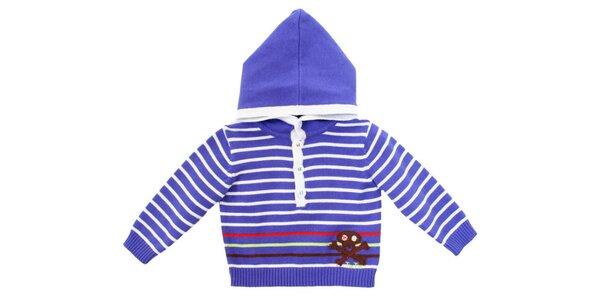 Fialový námořnický svetr s kapucou Tuc Tuc
