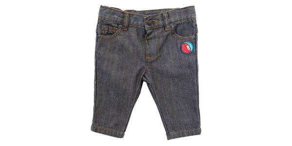 Dětské šedé džíny s nášivkou Tuc Tuc