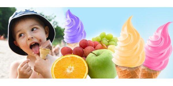 7 Kč ovocnou zmrzlinu dle aktuální nabídky
