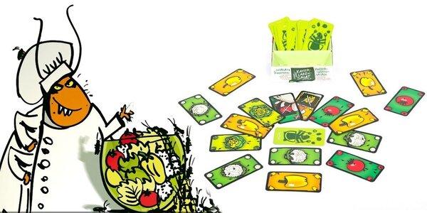 Švábí salát - zábavná postřehová karetní hra