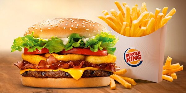 Texas whopper menu v Burger Kingu