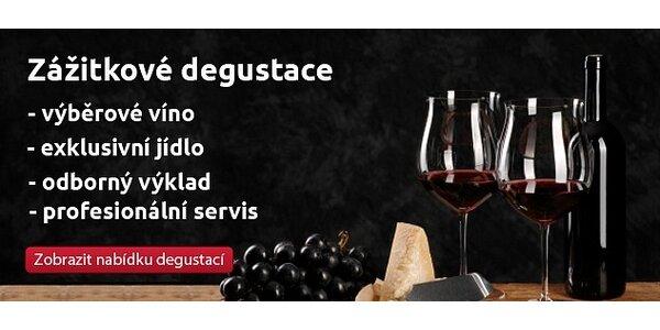 Řízená zážitková degustace 10-ti vín a 5-ti chodového menu