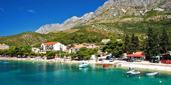 Chorvatsko: 7 nocí v apartmánech u pláže