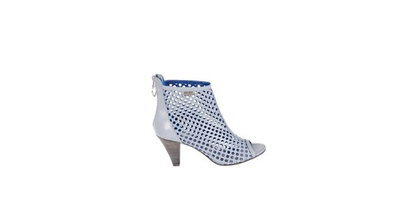 Dámské světle modré perforované sandály Miss Sixty