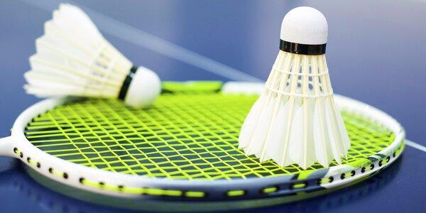 Hodinka badmintonu na kurtech Sportcentra Step