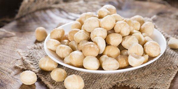 Pořádné balení makadamových ořechů