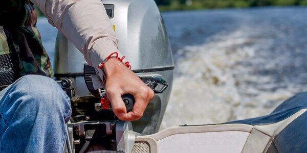 Projížďka v motorové lodi na Žermanické přehradě