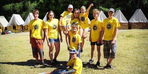 14denní cykloturistický tábor Kolovalt
