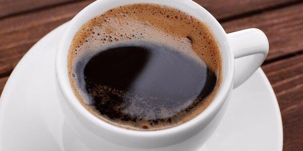 Espresso z výběrové brazilské kávy v Prostějově