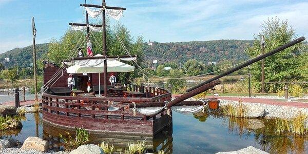 Pirátský minigolf pro dospělého nebo dítě