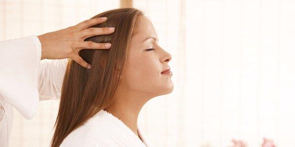 Indická masáž hlavy, obličeje a šíje