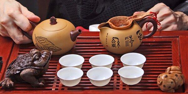 Konvička čaje dle vašeho výběru v čajovně Relax