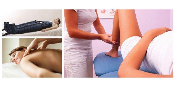 Lymfatická masáž se zábalem dle výběru