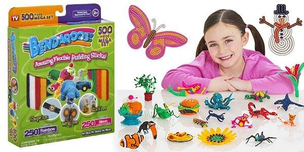 Tvarovací provázky BENDAROOS pro tvořivé děti