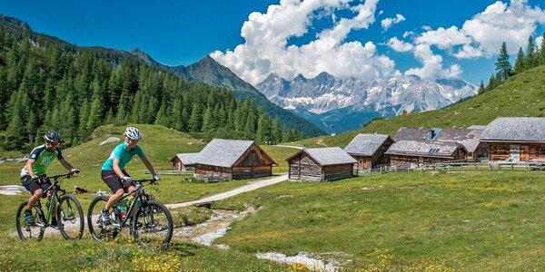 Aktivní dovolená v rakouských Alpách pro dva