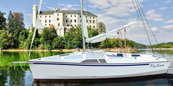 Pronájem jachty na Orlické přehradě