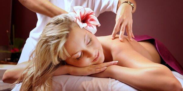 Tradiční thajská masáž v centru Prostějova