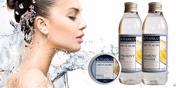 Kosmetika s léčivou solí z Mrtvého moře