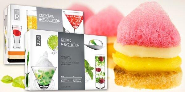 Sety pro molekulární gastronomii a koktejly