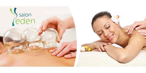 Zdravotní a relaxační masáže v salonu Eden
