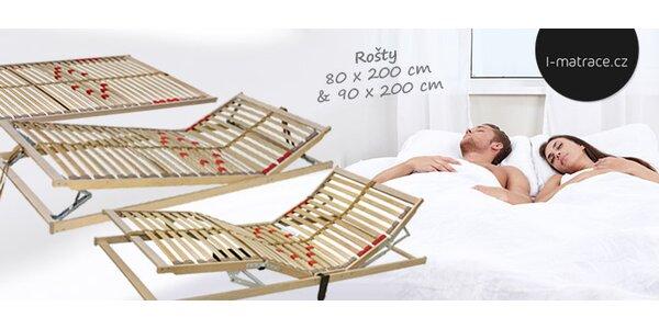 Kvalitní postelové rošty české výroby