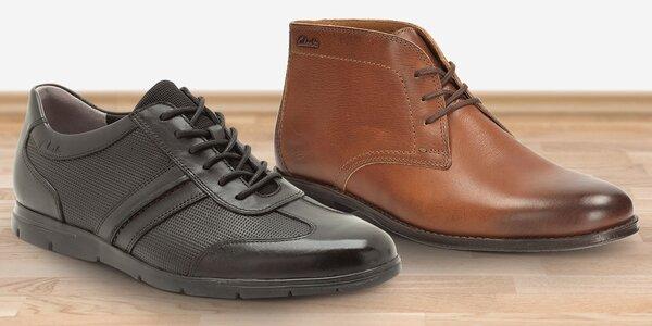 Do práce i společnosti: Pánské boty Clarks