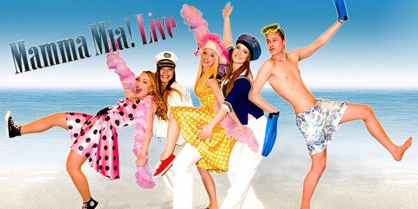 Vstupenky na venkovní show Mamma Mia! Live