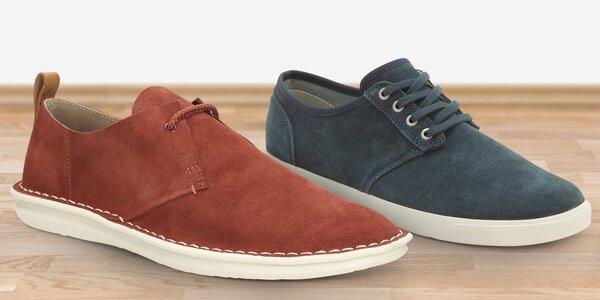 Pánské volnočasové a vycházkové boty Clarks