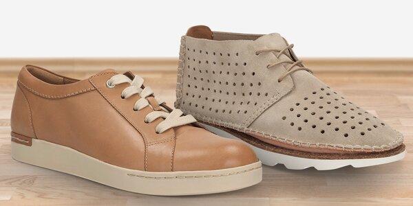 Vycházková obuv značky Clarks pro dámy