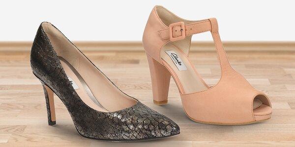 Dámské společenské boty značky Clarks