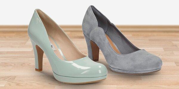 Elegantní dámské boty do společnosti zn. Clarks