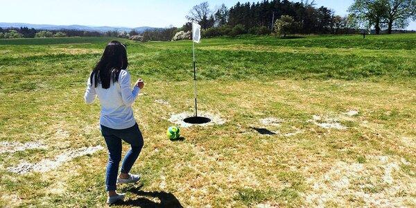 Footgolf aneb Golf s kopačákem