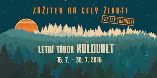 Zážitkový cykloturistický tábor Kolovalt