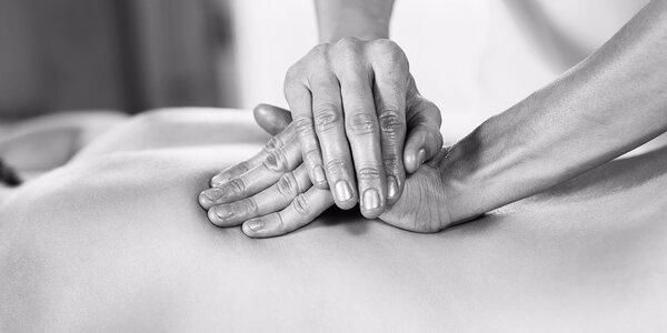 Intuitivní léčebná masáž dle výběru
