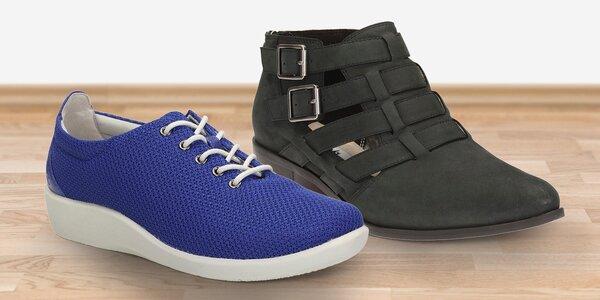 Dámské vycházkové boty Clarks do města
