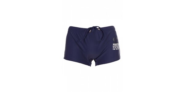 Pánské tmavě modré nohavičkové plavky David