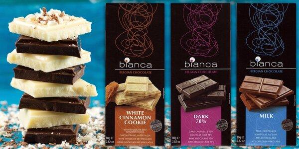 Belgické čokolády pro chvíle pohody